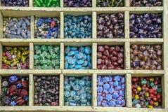 Szklany koralik dla biżuterii obraz stock