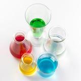 szklany laboratorium Obraz Royalty Free