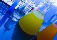 szklany laboratorium Fotografia Stock