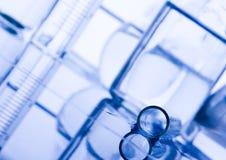 szklany laboratorium Zdjęcie Royalty Free