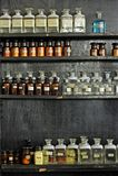 szklany laboratorium Fotografia Royalty Free