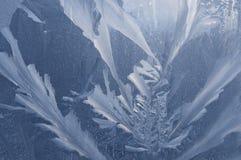 szklany lodowaty om deseniuje Fotografia Stock