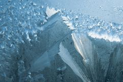 szklany lodowaty wzór Zdjęcie Stock