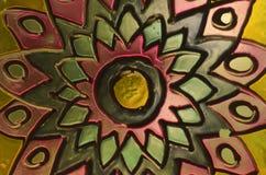 Szklany mandala Zdjęcie Royalty Free