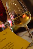 szklany menu Zdjęcie Royalty Free