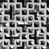 szklany metalu Obraz Stock