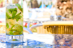 szklany mojito Fotografia Royalty Free