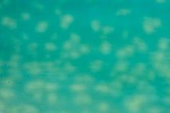 szklany nieprzezroczysty pobrudzony turkus zdjęcie stock