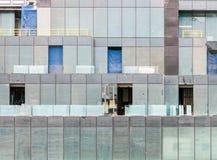 szklany nowożytny okno Obrazy Royalty Free