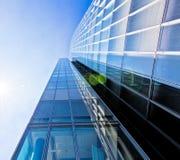 szklany nowoczesny budynek Obraz Stock