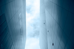 szklany nowożytny drapacz chmur Fotografia Royalty Free