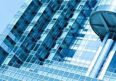 szklany nowożytny drapacz chmur nowożytna ściana Zdjęcie Stock