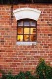 Szklany okno Obraz Stock