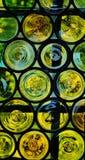 Szklany okno Obrazy Stock