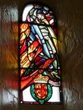 Szklany okno z William Wallace obrazy stock