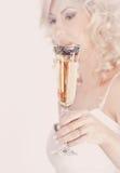 szklany panny młodej mienie Obraz Royalty Free
