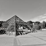 Szklany piramida Zdjęcie Stock