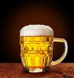 Szklany piwo obraz royalty free
