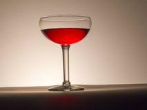 szklany plażowy lunchu wino Zdjęcia Stock