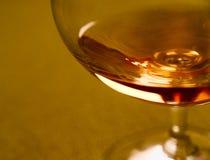 szklany rum Obraz Royalty Free