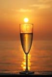 szklany słońce Zdjęcie Royalty Free