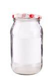 szklany słój Zdjęcie Stock