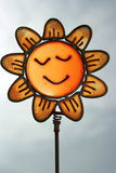 szklany słonecznik Obraz Stock