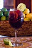 szklany sangria Zdjęcia Royalty Free