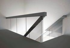 Szklany schody ilustracja wektor