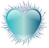 szklany serce Obraz Royalty Free