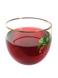 szklany sok wiśniowy Fotografia Stock
