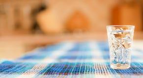 szklany stołowy wino Zdjęcie Royalty Free
