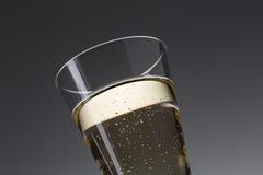 Szklany szampan z rosą obraz royalty free