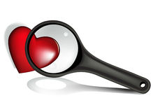 szklany target1793_0_ valentine Fotografia Royalty Free