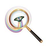 szklany target2038_0_ Zdjęcia Royalty Free