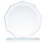 Szklany trofeum Obraz Royalty Free