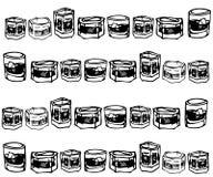 szklany whisky Royalty Ilustracja