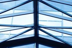 szklany większy dach Fotografia Stock