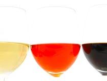 szklany wino fotografia royalty free