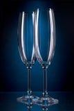 szklany wysoki wino Zdjęcie Royalty Free