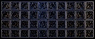 Szklanych bloków tło Obrazy Royalty Free