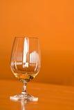 szklanych odbić nadokienny wino Fotografia Royalty Free