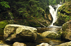 Szklarka vattenfall Arkivfoto