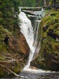 Szklarka-Wasserfall Stockfotos
