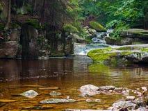 Szklarka-Wasserfall Lizenzfreies Stockbild