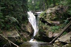 Szklarka Waterfall. In Szklarska Poreba. Poland, Europe Stock Images