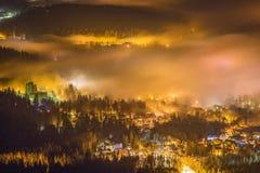 Szklarska PorÄ™ba em montanhas gigantes/Karkonosze Fotos de Stock Royalty Free