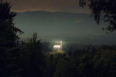 Szklarska Poreba寺庙 免版税库存图片