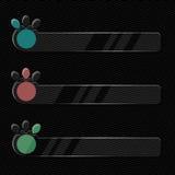 Szklista ewidencyjna grafika Zdjęcie Stock