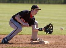 Szkoła Średnia baseball obraz royalty free
